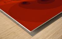 Fractal Pattern 12 Wood print