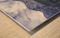 Hallstatt Sunrise Wood print