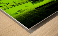 DO NOT ENTER Wood print