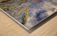 Abstract Single Wood print