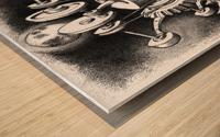 WES Wood print