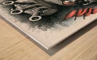 Girl_Revolution Wood print