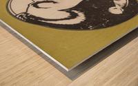 Vintage FSU Florida State University Seminoles Art_Ticket Stub Art Reproduction Print Wood print