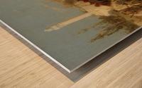 The Oasis Wood print