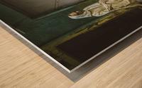 Varanasi Window - The Spy Wood print