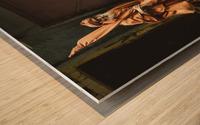 Varanasi Window - Pilgrim Wood print