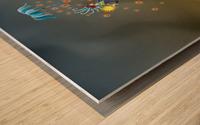 Noppo Ombrello Azure Wood print