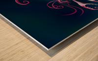 Aragosta Rosa Wood print