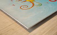 Castellini Elephantini Dorado Wood print