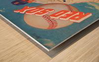 1959_Boston Red Sox_Baseball Yearbook_Poster_Vintage Baseball Art Print Reproductions Wood print