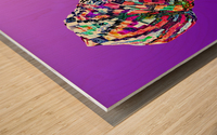 ColorThroughCulture VI Wood print