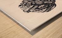 Color Through Culture III Wood print