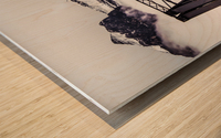 The Engine Bridge Canmore Wood print