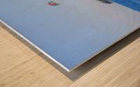 Parasailing Wood print
