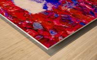 Chimney Bluffs Wood print