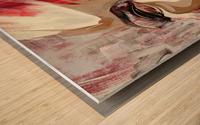 SENTIDOS DE MUJER Wood print