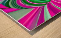 DISTORSION 5B Wood print