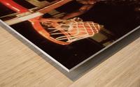 1985 Michael Jordan Dunk Wood print
