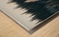 Arbre de dentelle Impression sur bois