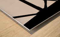 Bridge I Wood print
