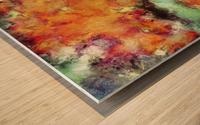 Big cloud collider Wood print