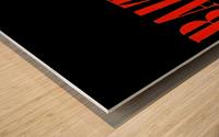 baltimore orioles retro remix row one Impression sur bois
