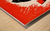 hal decker artist baltimore orioles poster Impression sur bois
