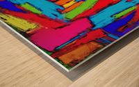 Crusher Wood print