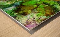 Green scene Impression sur bois