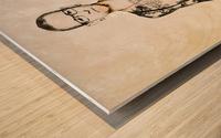 Chester Bennington Wood print
