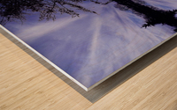 Cloudes 94 Wood print