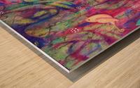 Euphoria detail2 Wood print