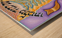 BNC2015-027 Wood print