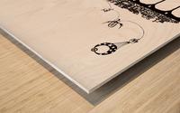 Treno Espresso Castelinni Wood print