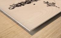 Castellini di Luna Wood print