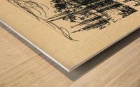BNC1967-03 Impression sur bois