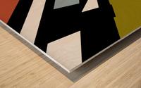 Bridge  X Wood print