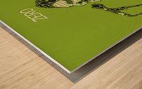 Zero   billy Corgan Wood print