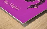 Purple Rain   Prince Wood print