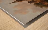 Stadsgezicht mogelijk Den Haag Wood print