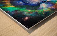 Mystic Universe Wood print