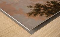 Capriccio stadsgezicht, elementen Deventer Wood print