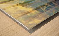 Lakeside Intrigue Wood print