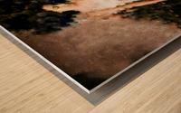 Messenger Descending Wood print
