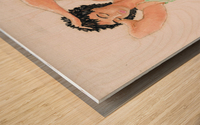 NICOLE  - Crayons Wood print