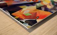 Oscillating  Magical Vivid Thoughts Wood print