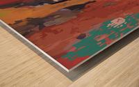 hidden agendas Wood print