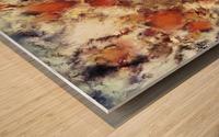 Terracotta tumble Impression sur bois