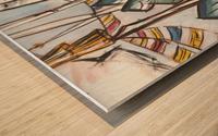 makers Wood print