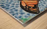 Emergence I Wood print